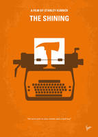 No094 My The Shining minimal movie poster by Chungkong