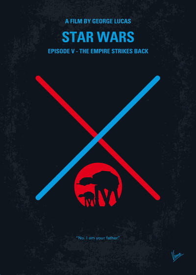My STAR WARS V The Empire Strikes Back minimal pos by Chungkong