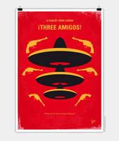 No285-My-Three-Amigos-minimal-movie-poster-720 by Chungkong