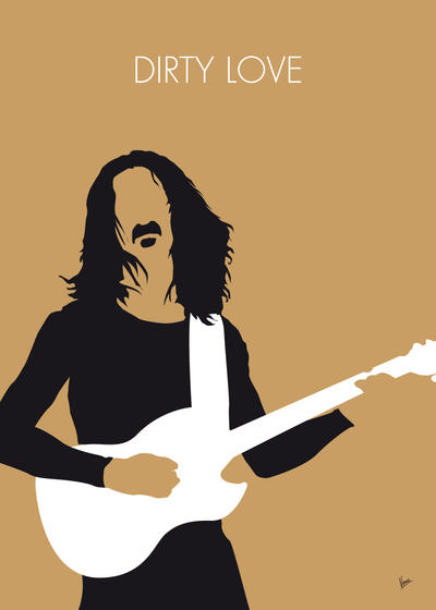 No040 my frank zappa minimal music poster by chungkong on for Music minimal art