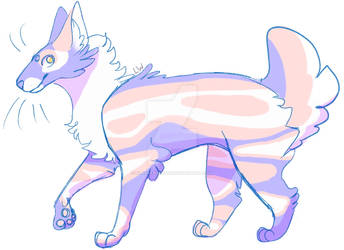 Pastel Cat Adoptable