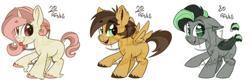 Chibi Pony Adopts- OPEN [3/3]+ Special Offer