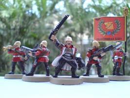 Praetorian Guard Command Squad by Radavik