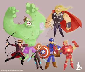 Avengers Age of Ultron Assemble