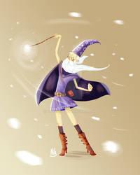 Merlin in boots