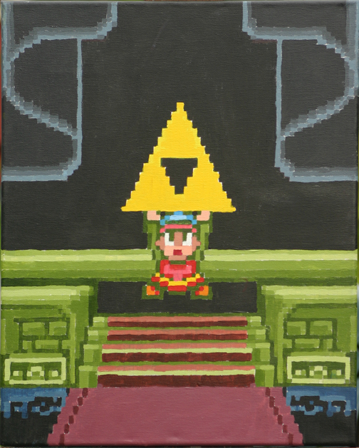 Illuminati Confirmed Game Link_With_The_Triforce_by_Squarepainter