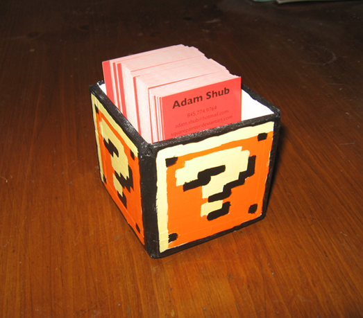 Coin box business card holder by squarepainter on deviantart coin box business card holder by squarepainter colourmoves