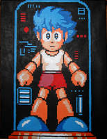 The Blue Bomber Is Created by Squarepainter