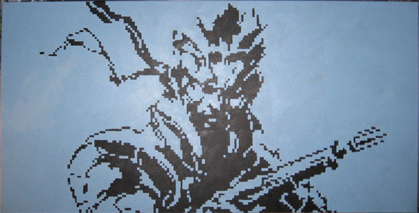 Solid Snake by Squarepainter