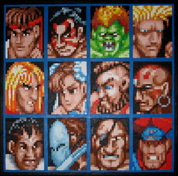 The World Warriors by Squarepainter