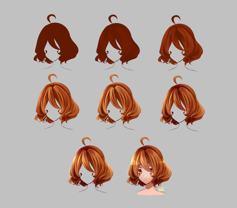 How I color hair / Step by step?? by Kristina1224