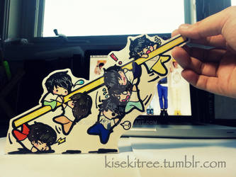 Nothing's Over Infinite Paper Dolls by kisekitree