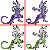 Mewtwo - Rage Forme by The-Rebexorcist