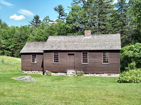birth place of Daniel Webster