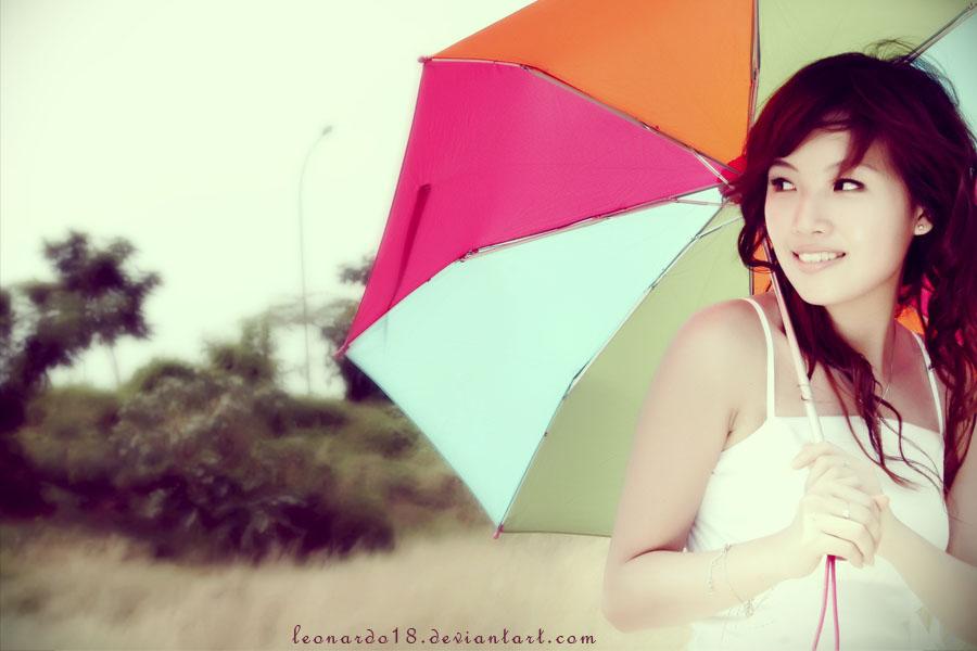 umbrella girl    by leonardo18 - Avatar Bulmaca