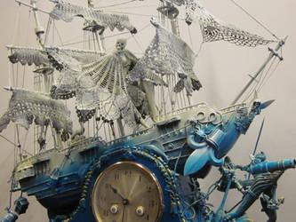 Pirate Pete,Detail 1 by KARLCLAYDON