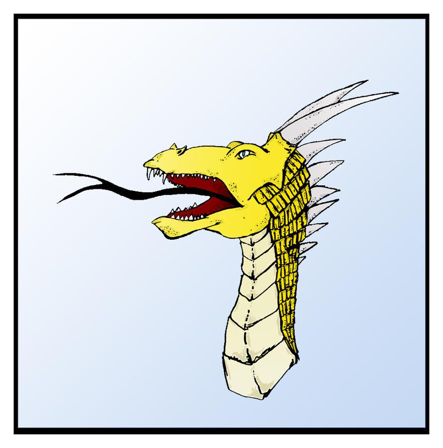 Gold Dragon by bensinn