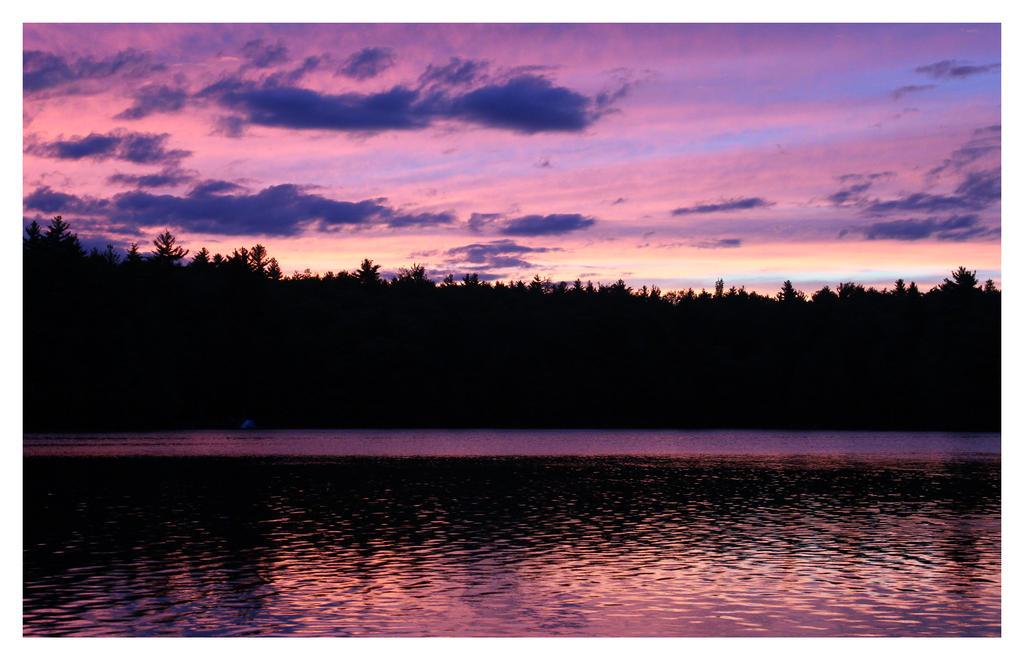 Sunset At Little Duck Pond by bensinn