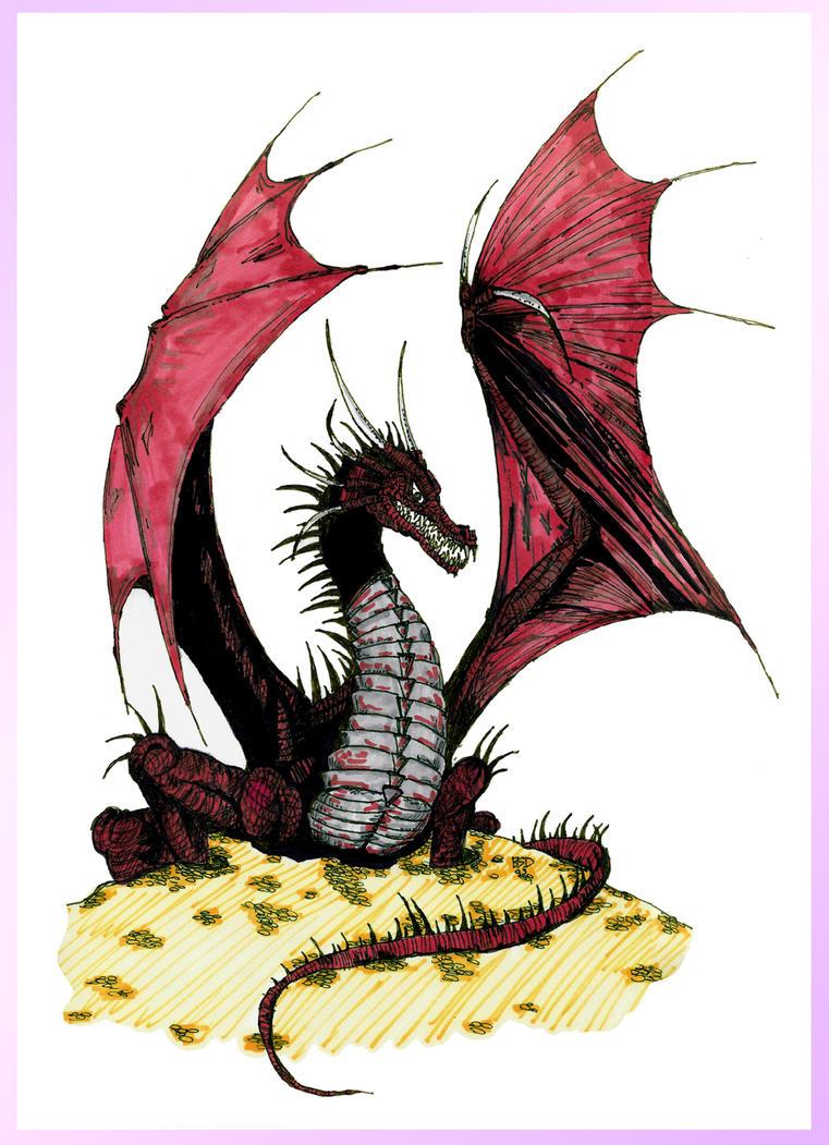 Red Dragon Ink by bensinn