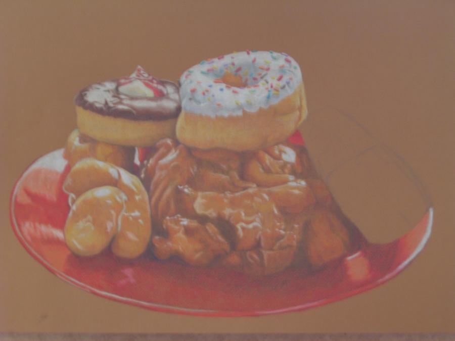 Doughnuts WIP 3 by glacierbear
