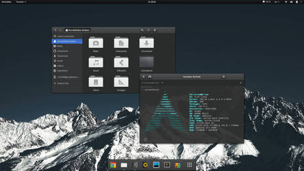 Gnome Vertex Desktop by crian