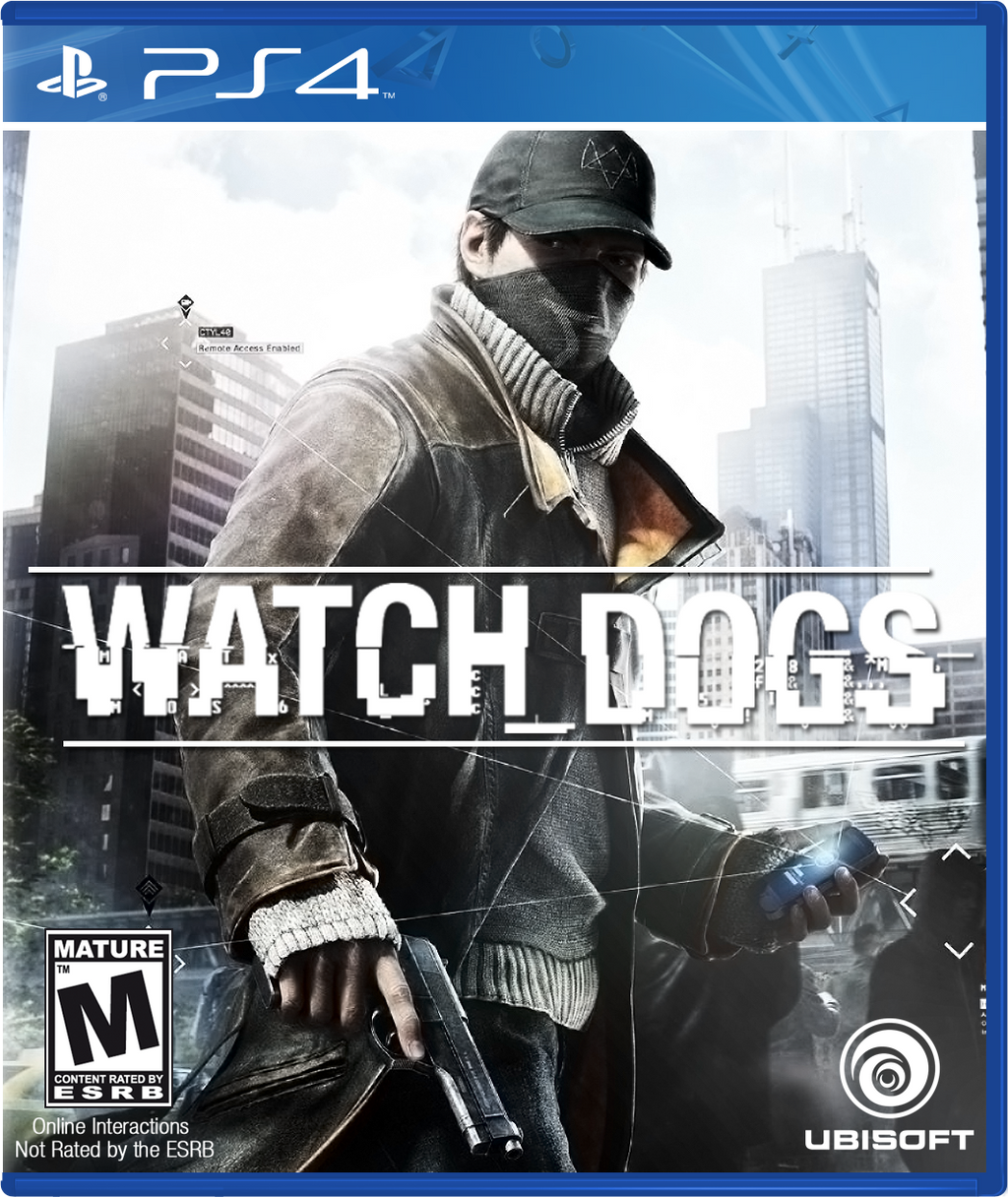 Watch Dogs (PS4) by Lycan38 on DeviantArt  Watch