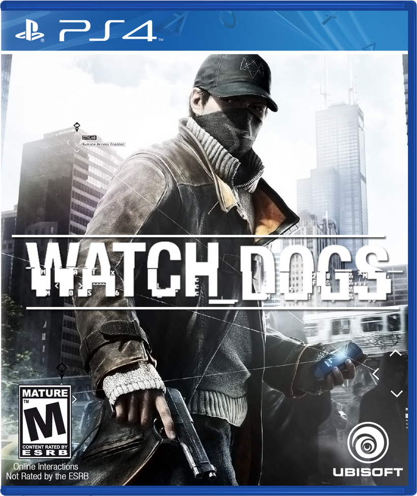Watch Dogs (PS4) by Lycan38 on DeviantArt Watch Dogs Ps4 Box Art