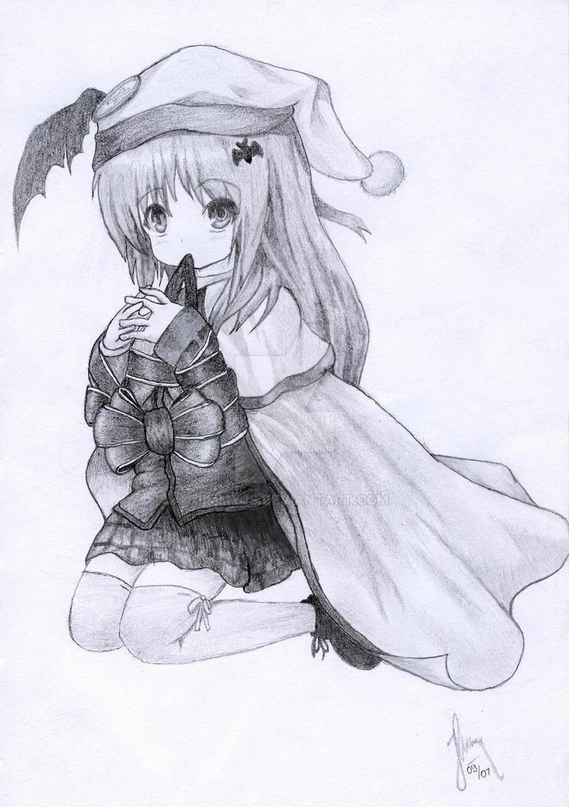 Kudryavka Noumi Sketch (Little Busters!) by JimmyJS