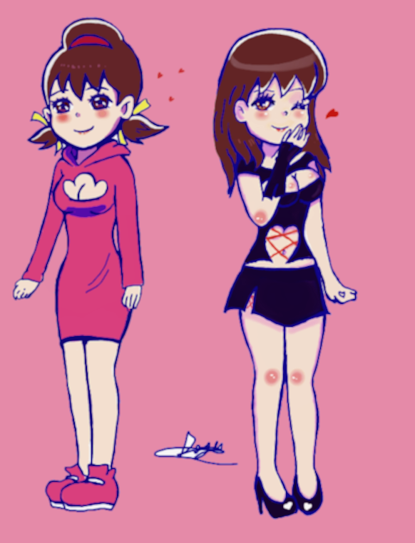 Two Totoko's by Kamoraki