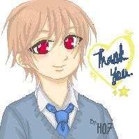 Hanaki tq for fav pixel by Haruna07