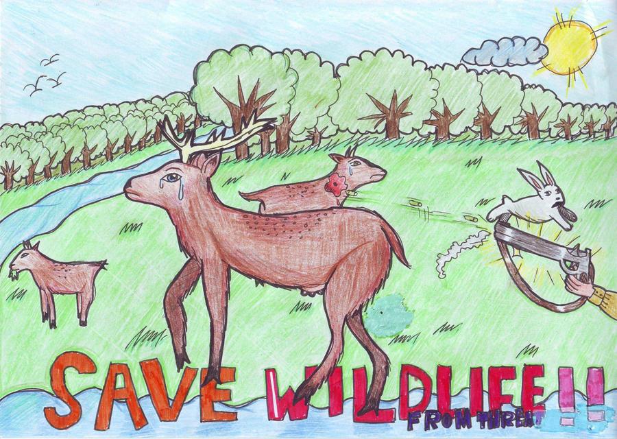 Save wildlife by Zeyaneeb on DeviantArt