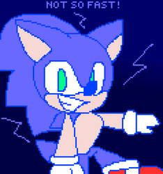 Sonic The Hedgehog: not so fast!