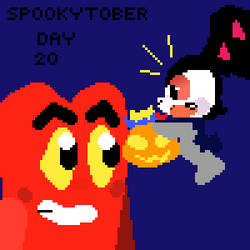 Spookytober day 20: candy pumpkin