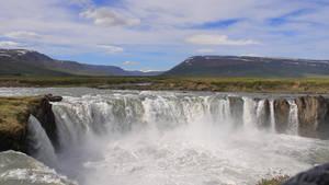 Godafoss Fall Iceland