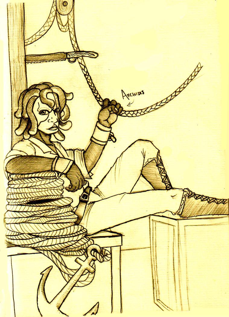 Mr. Medusa by Timetower