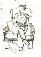Girlfriend Sketch by Timetower