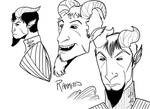Character Design - Raamites