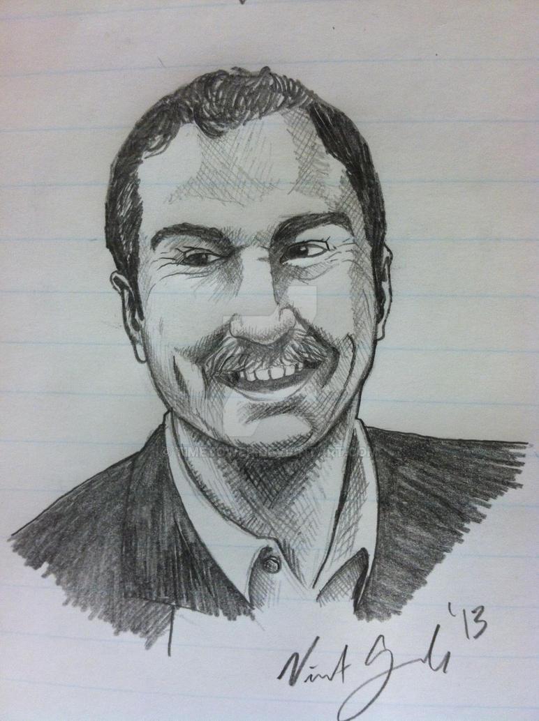 Mustache Guy by Timetower
