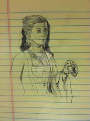 Doctor Who - Madame de Pompadour Sketch