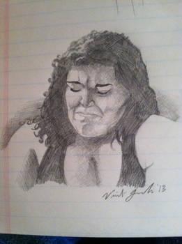 Unhappy sketch