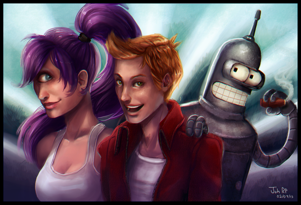 Futurama by Juneru