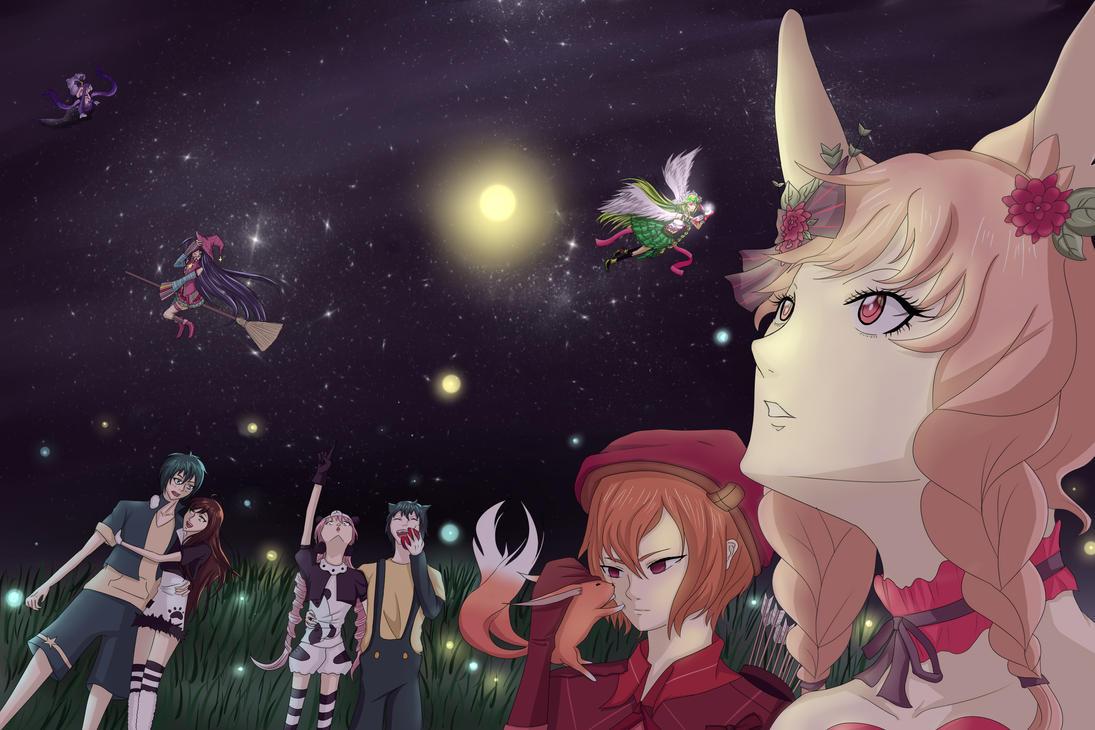 [CE] Star light, Star bright by airnaxela