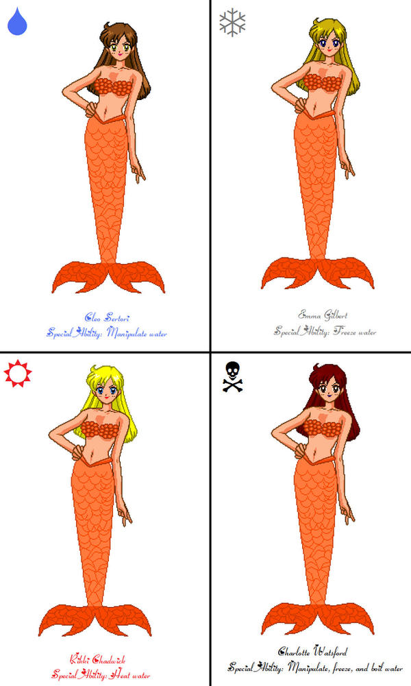 H2O mermaids by DoctorEvil06 on