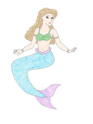 Noelle's Mermaid by DoctorEvil06