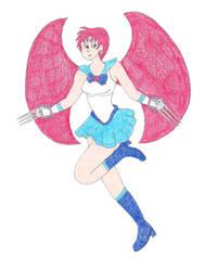 Sailor Salamence by DoctorEvil06