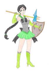 Sailor Zygarde by DoctorEvil06