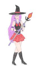 Sailor Chandelure by DoctorEvil06