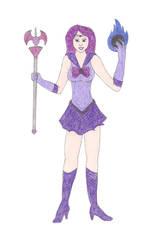 Sailor Gengar by DoctorEvil06
