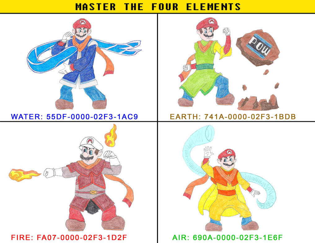 Master the Four Elements