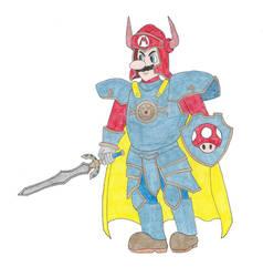 Mario The Dragon Warrior